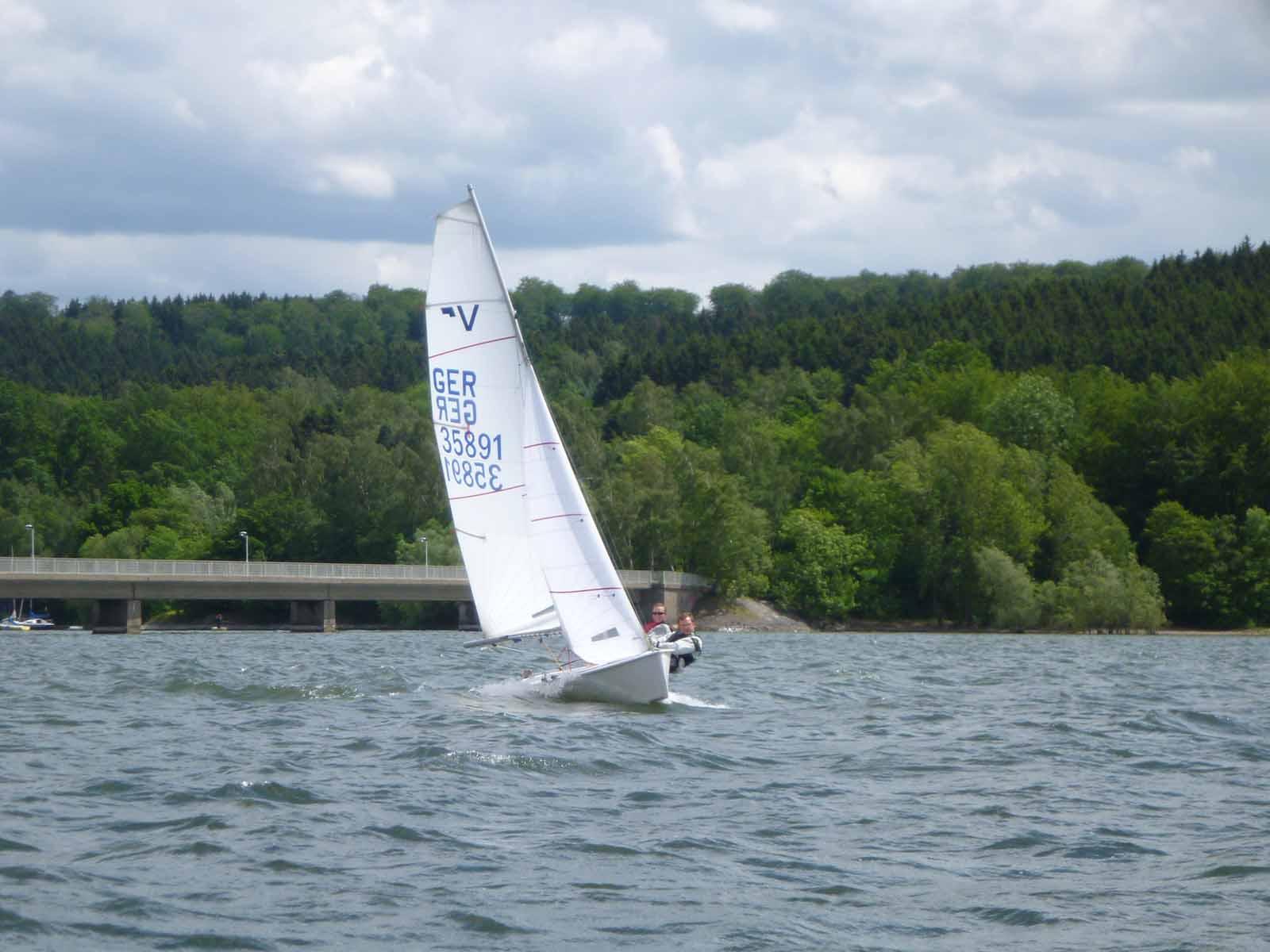 Vaurien - Pokal @ Yachtclub Westfalia Arnsberg e. V.